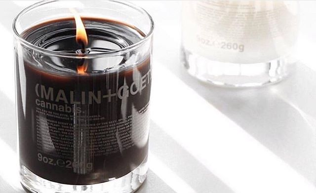 Spark up one of our @malinandgoetz Cannabis infused candles this 4.20 🔥 🌱 or try one of our other scents, such as Dark Rum or Tobacco! These candles are worth the investment with a 60 hour burning time! #brushsalonyvr