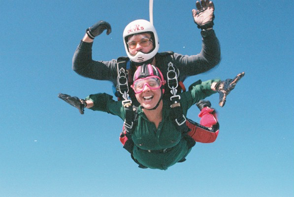 Skydiving over Stonehenge, England. Yes, I jumped out of a perfectly good airplane. So. Much. Fun.