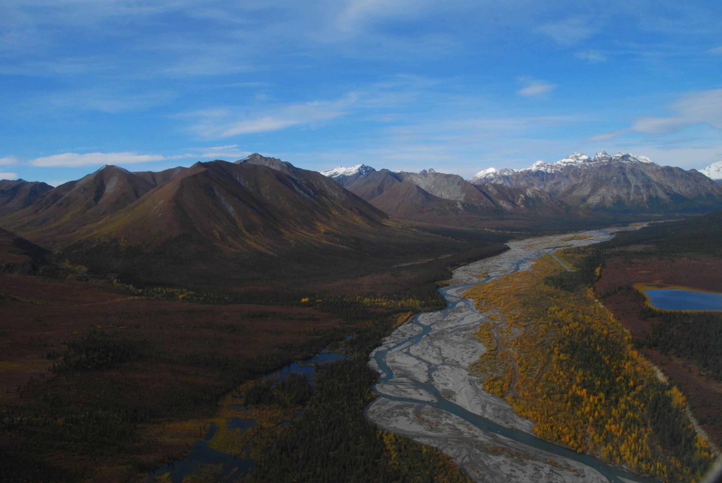 Aerial View of Wood River