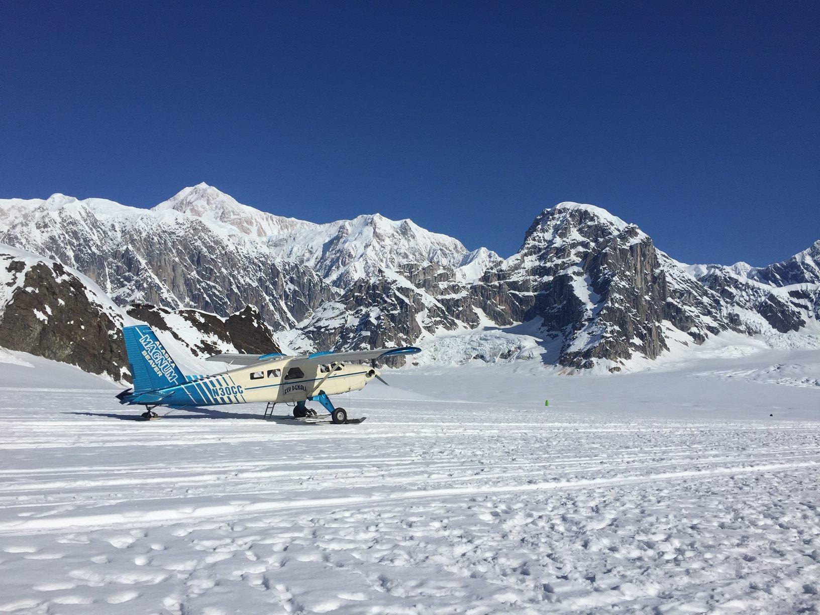 Charlie Charlie on the Ruth Glacier