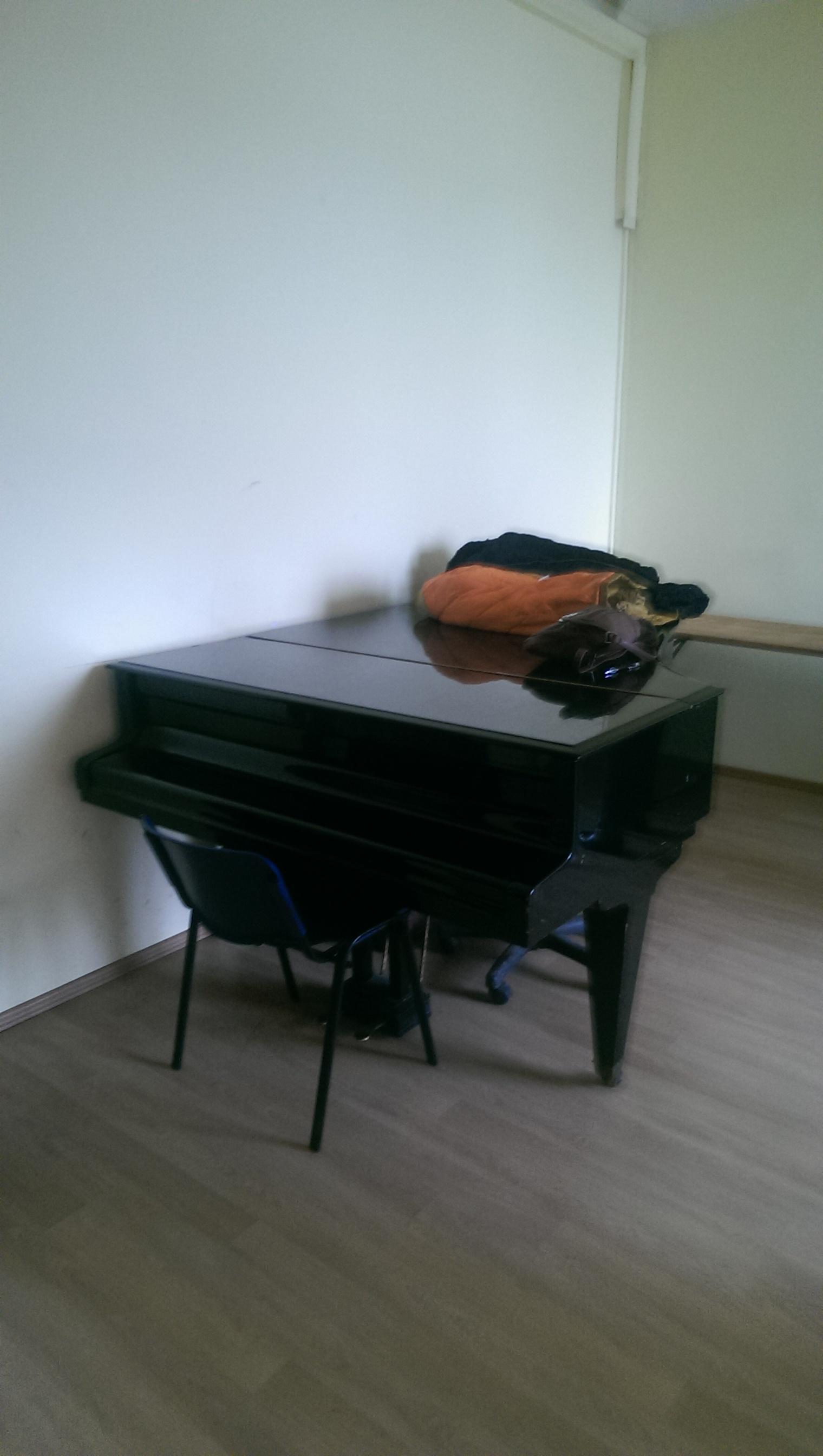 Pianul - asistentul meu timid