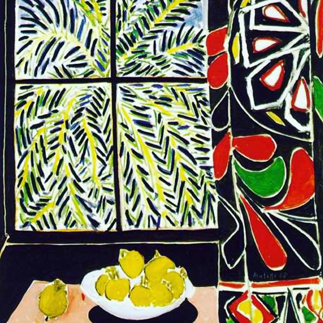 Well this was our still life inspiration. Painting by #henrimatisse just watch this space for more incredible artwork 🖼!!💕🎨during #holiday workshops @rigbydesignhouseart