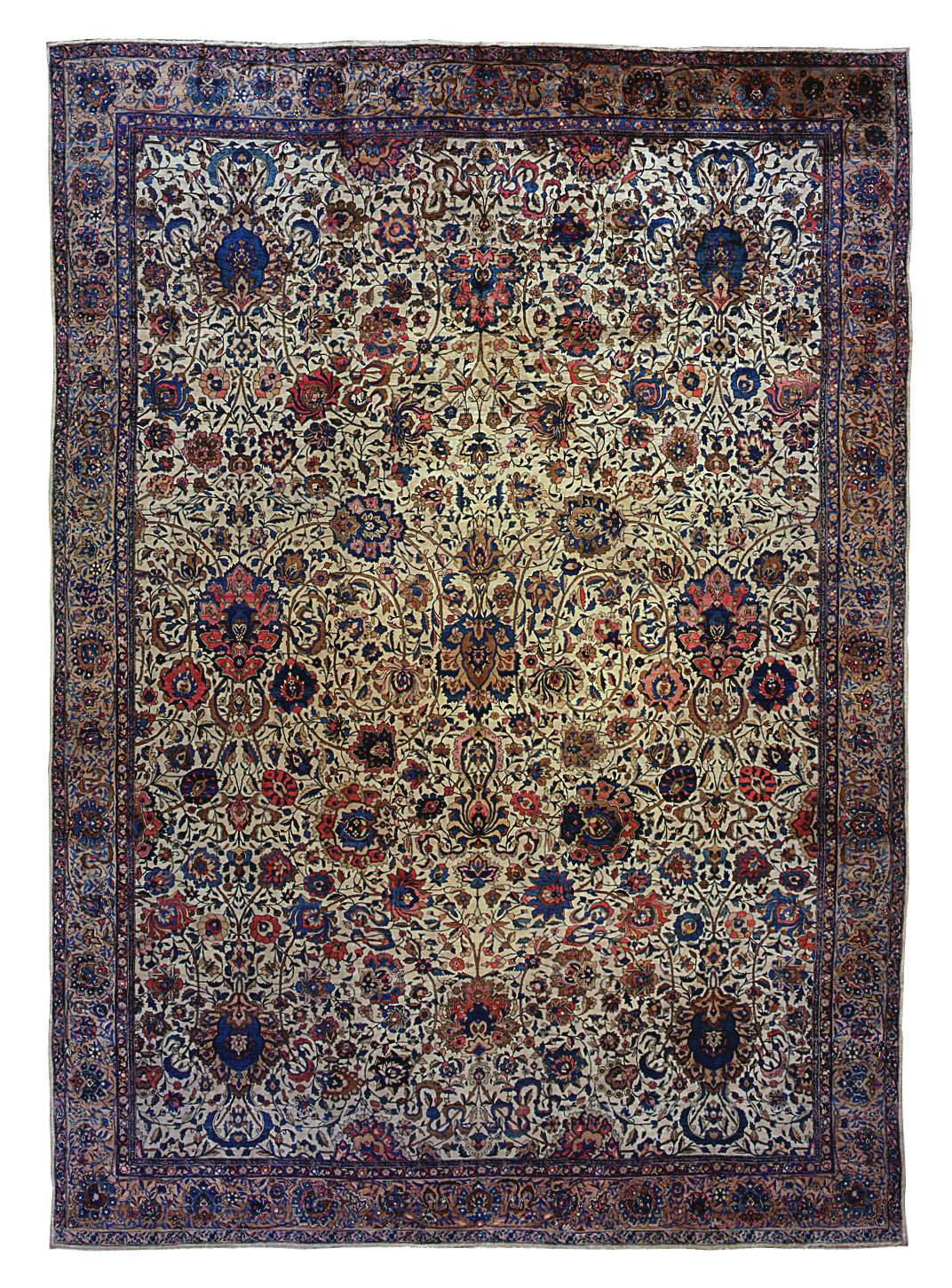 "Copy of Indo-Isfahan Carpet 20' 6"" x 14' 8"""