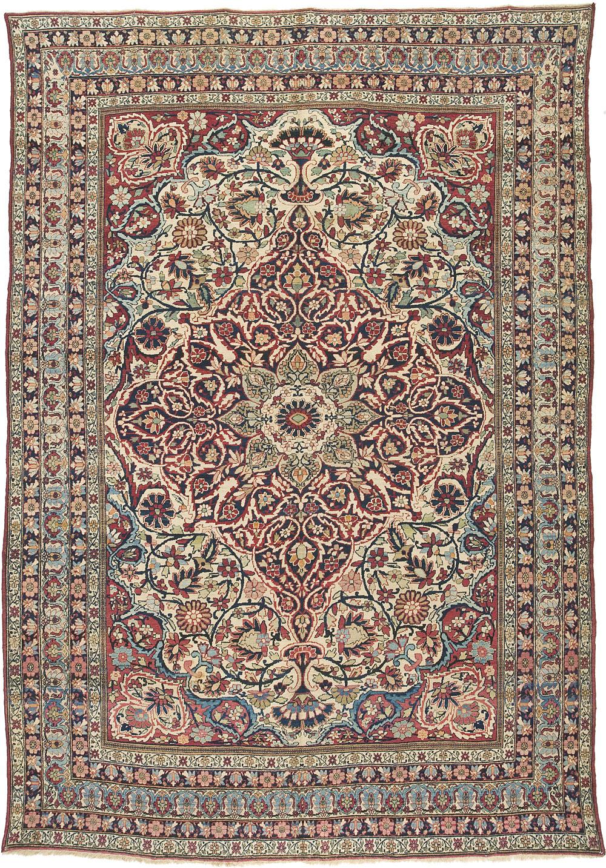 """Lavar Kirman Carpet 12' 9"""" x 8' 11"""""""