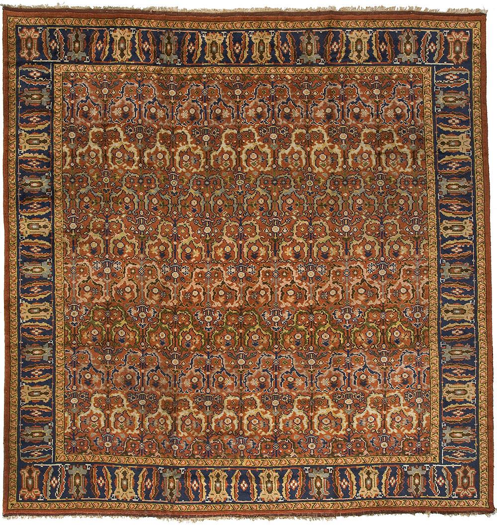 English Oushak Carpet_17014