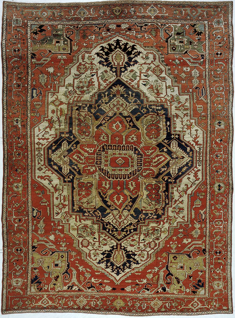 Heriz Carpet_17250
