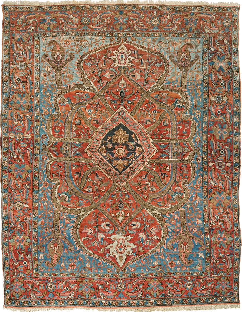 Heriz Carpet_17007