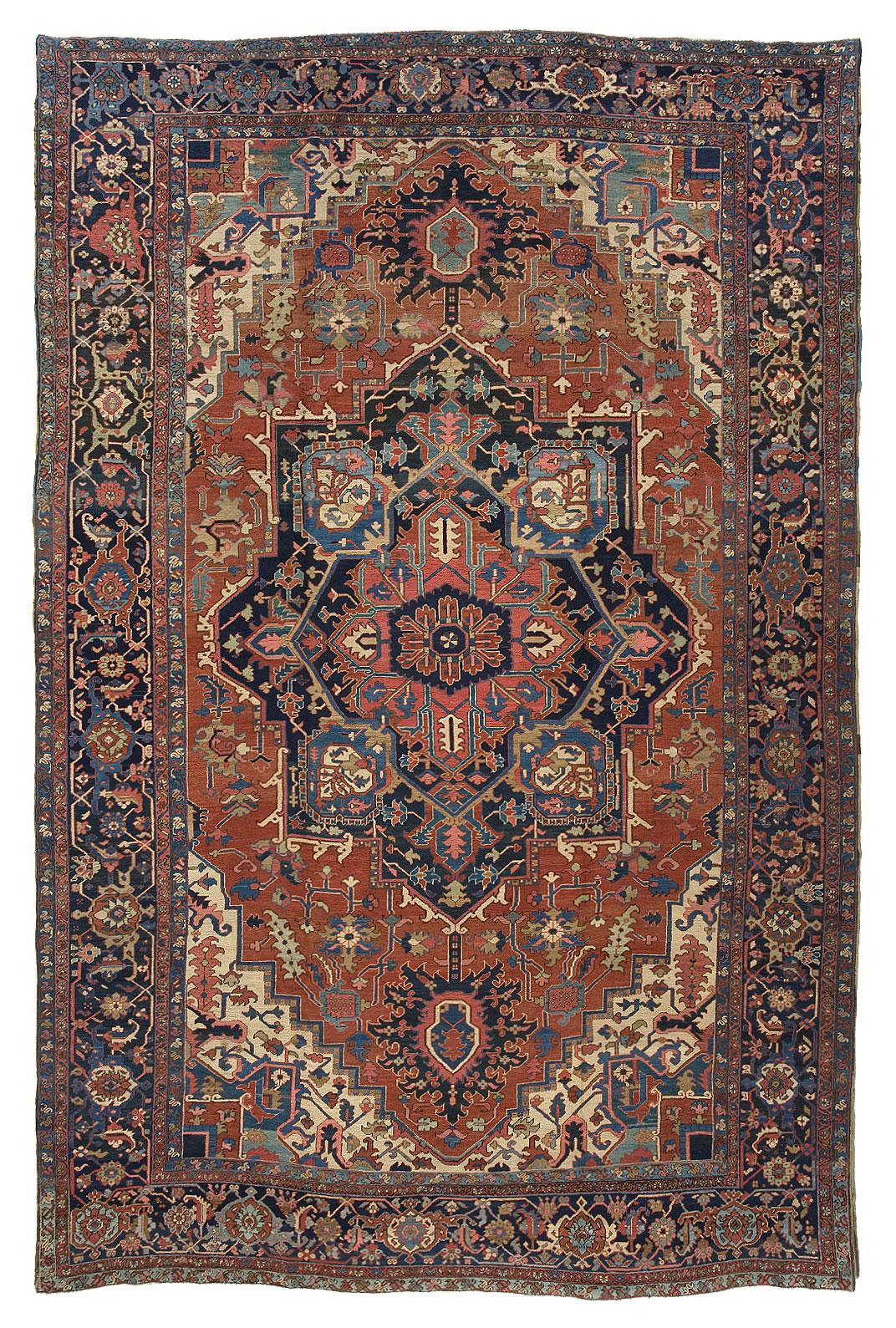 Heriz Carpet_17185