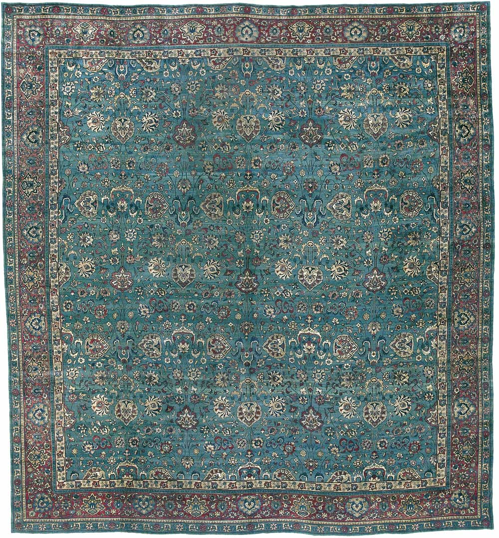 Indo-Isfahan Carpet_17217