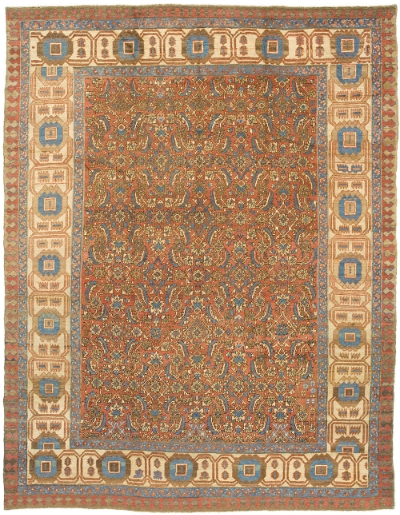 """Copy of Bakshaish Carpet 11' 7"""" x 9' 3"""""""