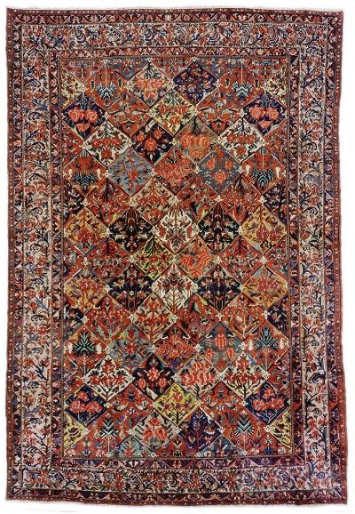 "Copy of Bakhtiari Carpet 17' 5"" x 11' 9"""