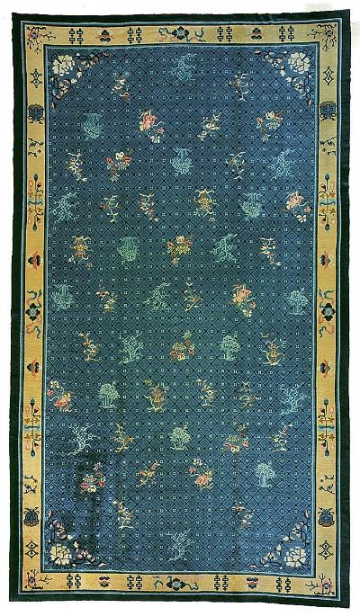 """Chinese Carpet 19' 2"""" x 11' 2"""""""