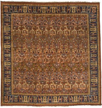 "English Carpet 14' 0"" x 13' 7"""