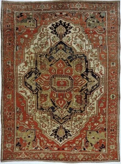 """Copy of Heriz Carpet 13' 1"""" x 9' 10"""""""
