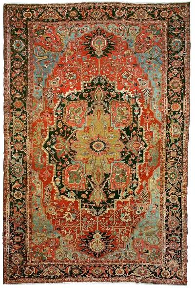 """Heriz Carpet 18' 9"""" x 12' 4"""""""
