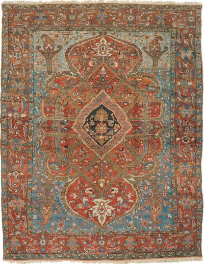 """Copy of Heriz Carpet 12' 6"""" x 10' 0"""""""