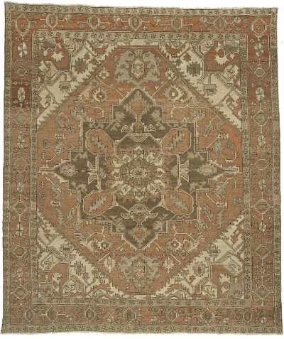 """Copy of Heriz Carpet 11' 6"""" x 10' 3"""""""