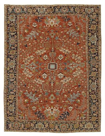 """Heriz Carpet 14' 7"""" x 11' 4"""""""