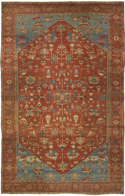 """Copy of Heriz Carpet 16' 1"""" x 10' 6"""""""