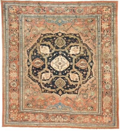 """Copy of Mahal Carpet 12' 5"""" x 11' 7"""""""