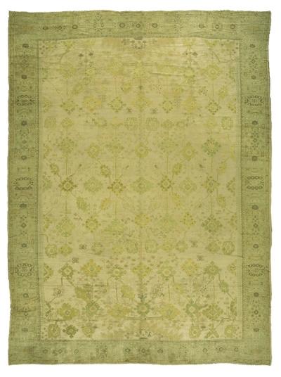"Copy of Oushak Carpet 21' 2"" x 15' 8"""
