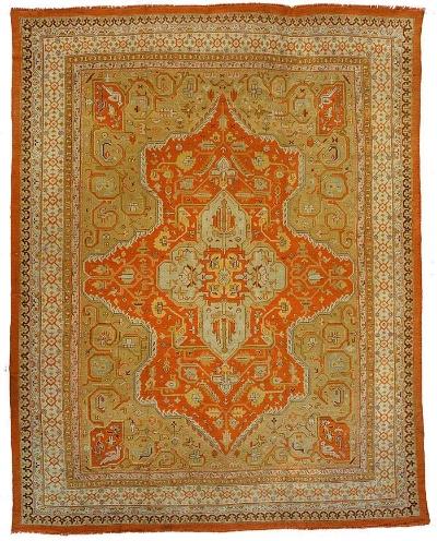 "Copy of Oushak Carpet 15' 2"" x 11' 11"""