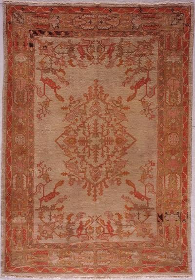 """Oushak Carpet 9' 9"""" x 6' 10"""""""