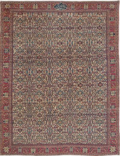 "Copy of Tabriz Carpet 11' 9"" x 8' 11"""