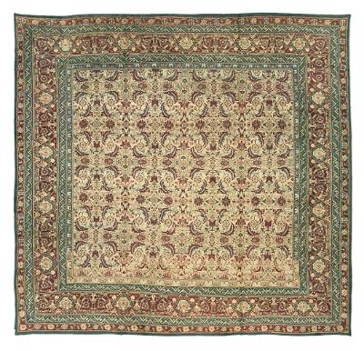 "Agra Carpet 12' 4"" x 11' 8"""
