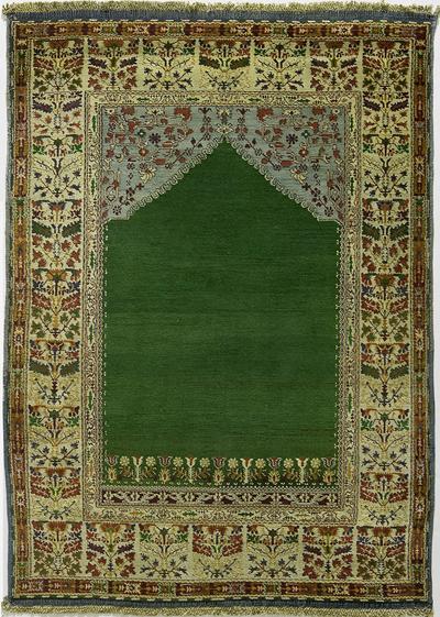 "Agra Prayer Rug 6' 2"" x 4' 4"""