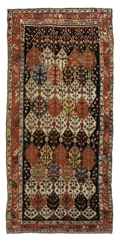 "Sehna Kurd Gallery Carpet 13' 9"" x 6' 5"""