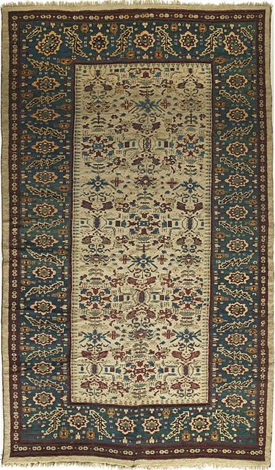 "Agra Carpet 13' 7"" x 8' 1"""