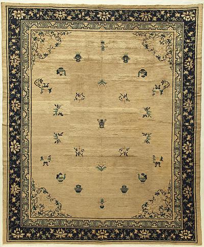 """Chinese Carpet 9' 7"""" x 8' 0"""""""