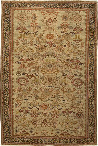 "NW Persian Carpet 9' 3"" x 5' 10"""