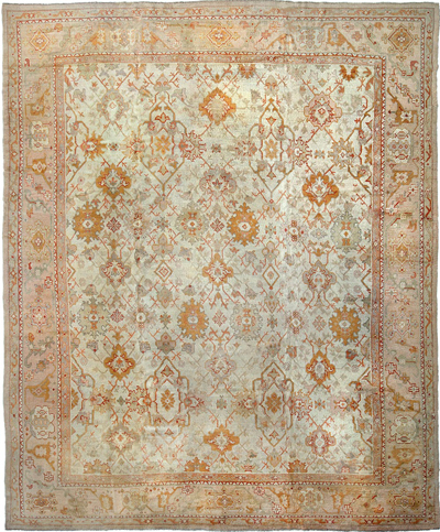 "Copy of Oushak Carpet 16' 2"" x 13' 4"""