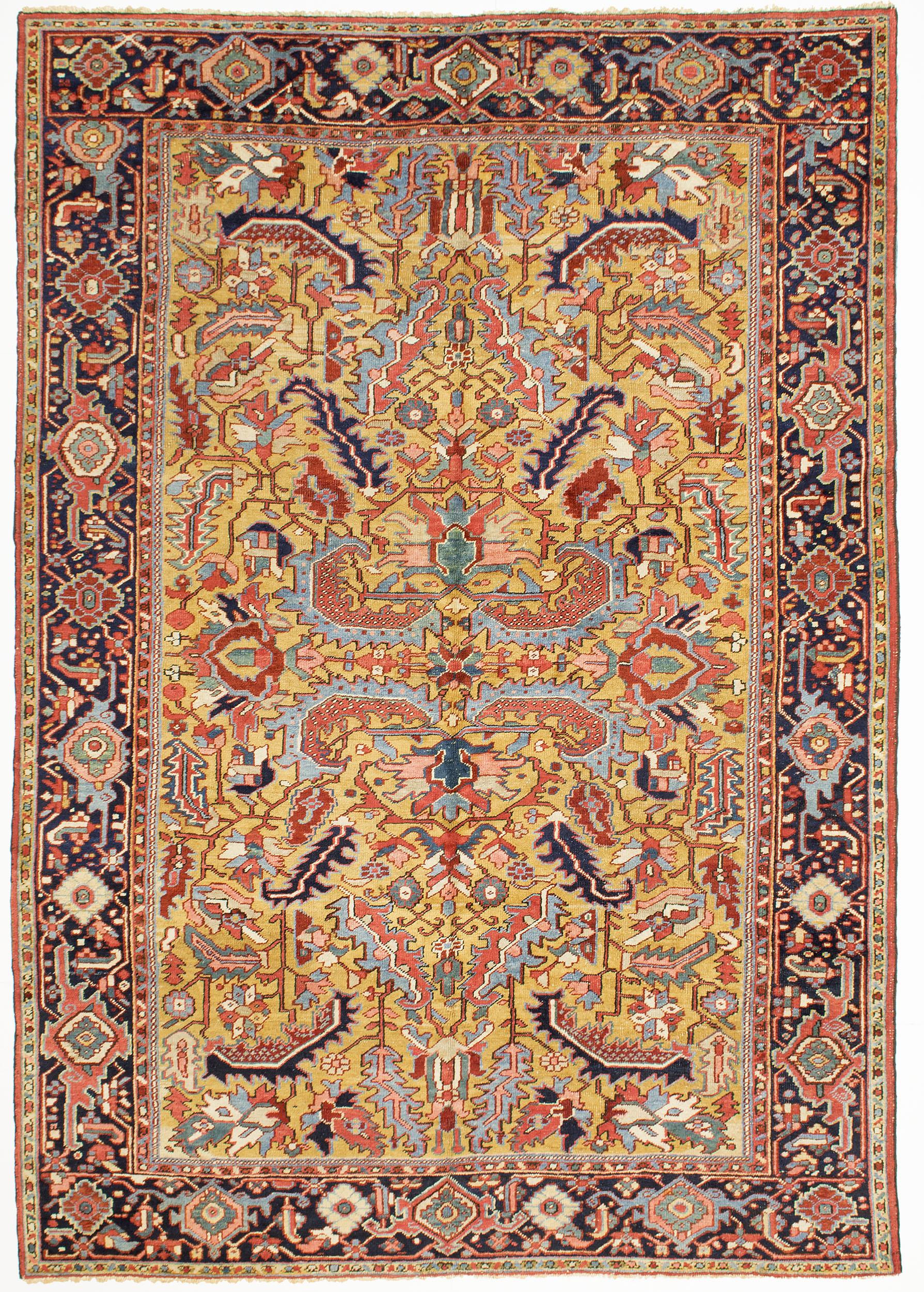 """Copy of Heriz Carpet 9' 10"""" x 7' 0"""""""