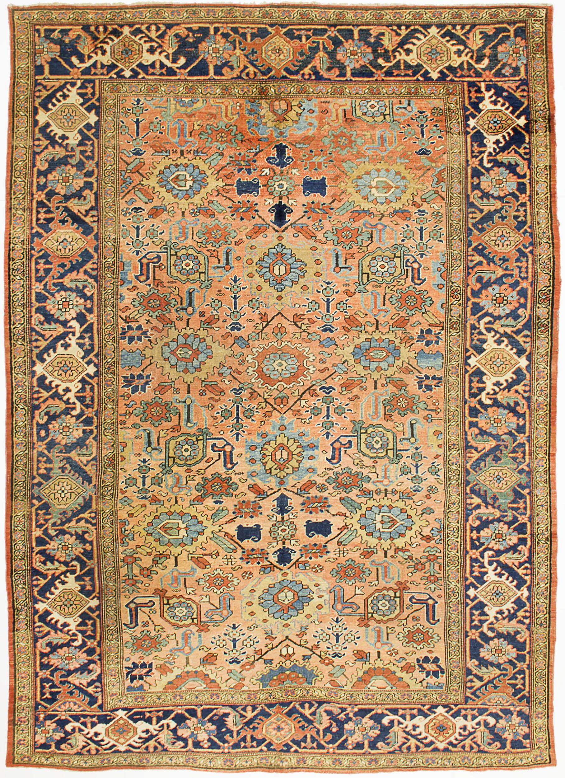 """Copy of Heriz Carpet 11' 6"""" x 8' 3"""""""