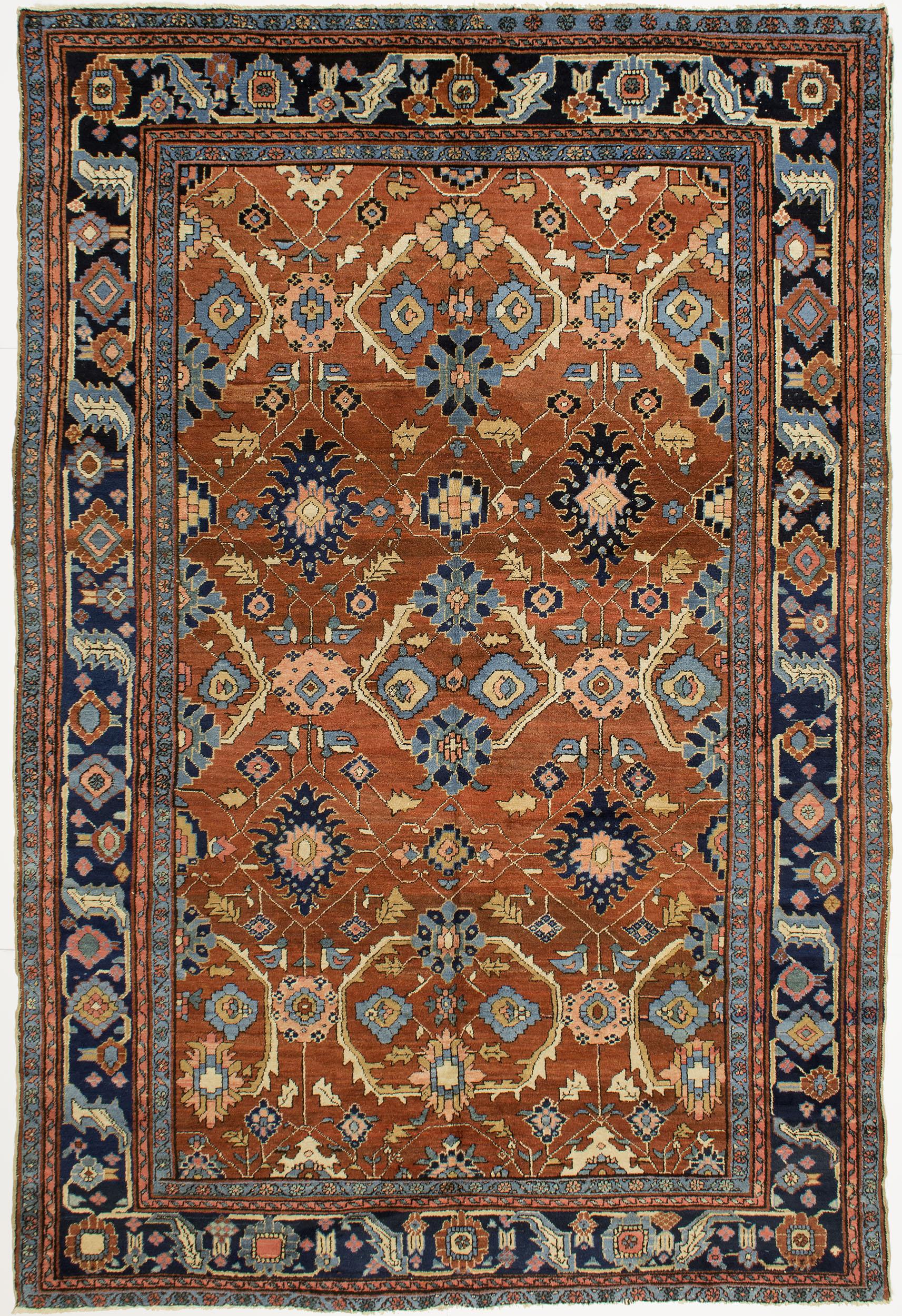 """Copy of Heriz Carpet 10' 9"""" x 7' 2"""""""