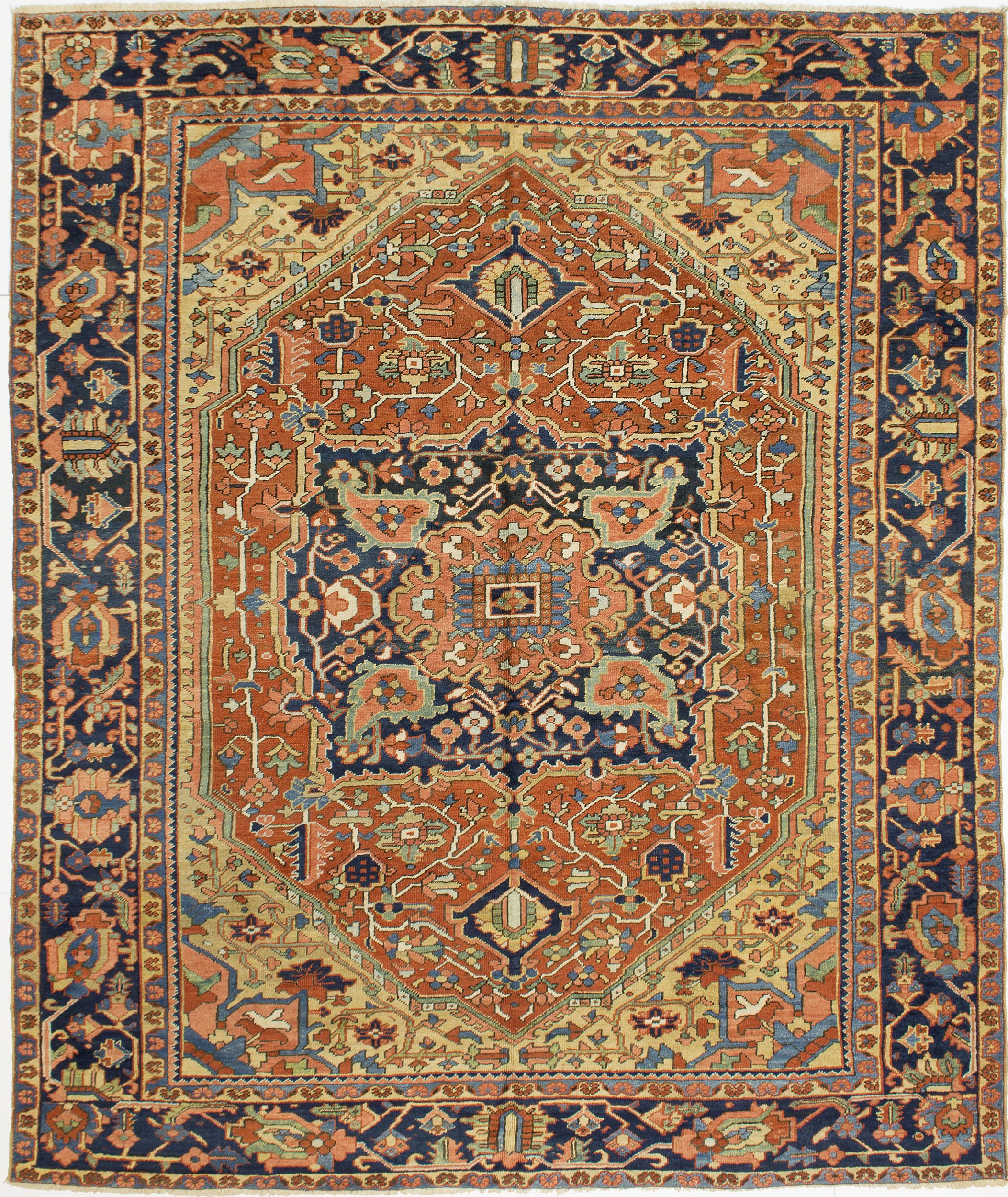 """Copy of Heriz Carpet 9' 10"""" x 8' 4"""""""