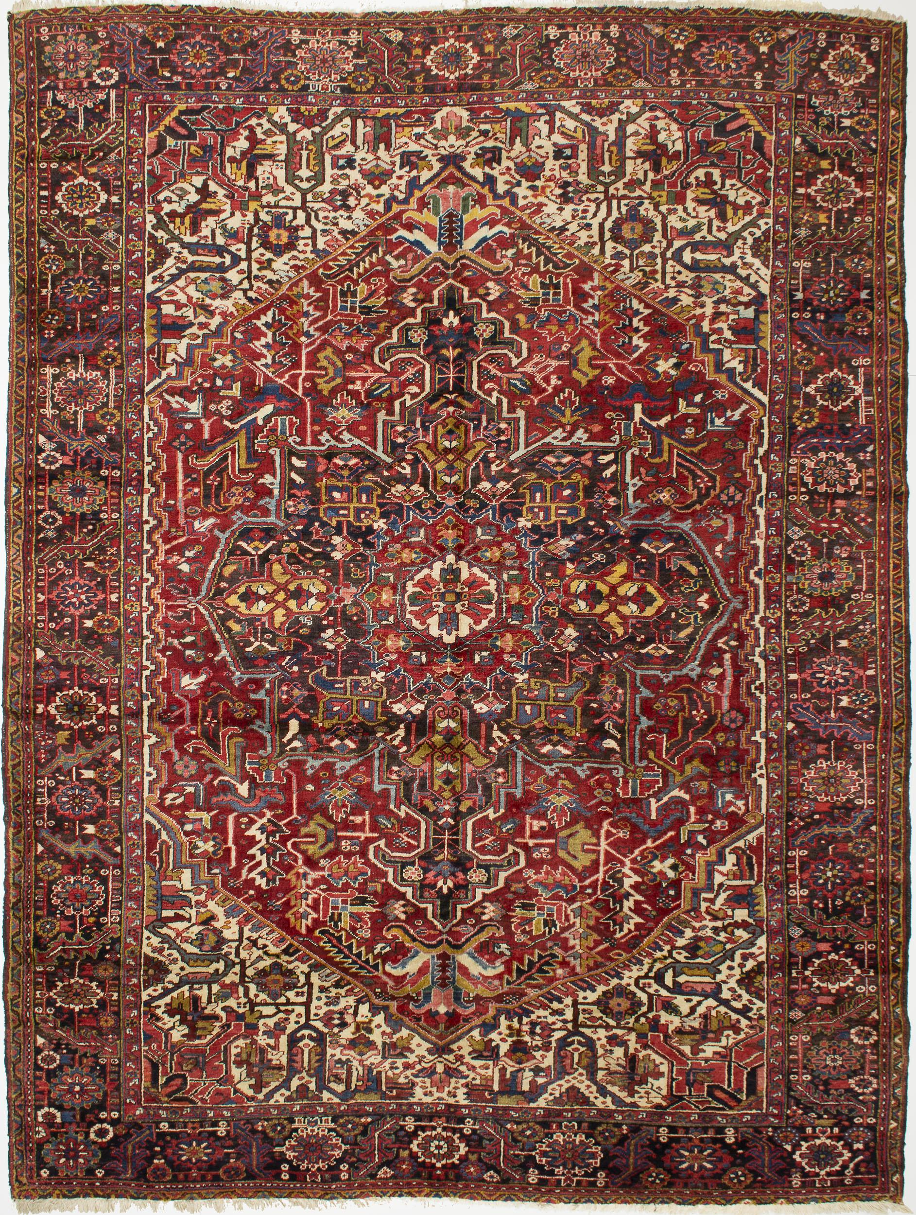 """Copy of Heriz Carpet 12' 5"""" x 9' 6"""""""
