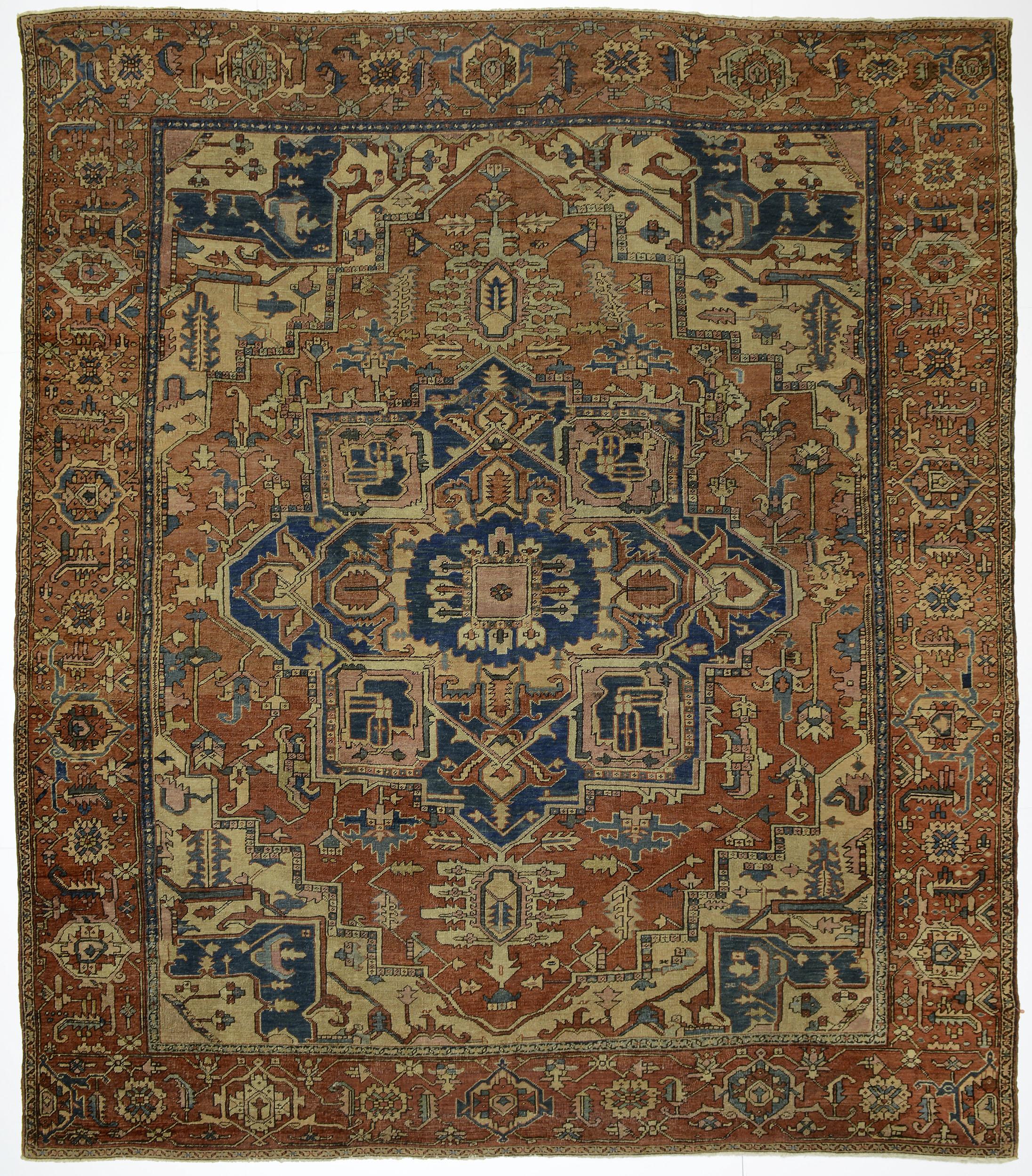"""Copy of Heriz Carpet 11' 4"""" x 10' 0"""""""