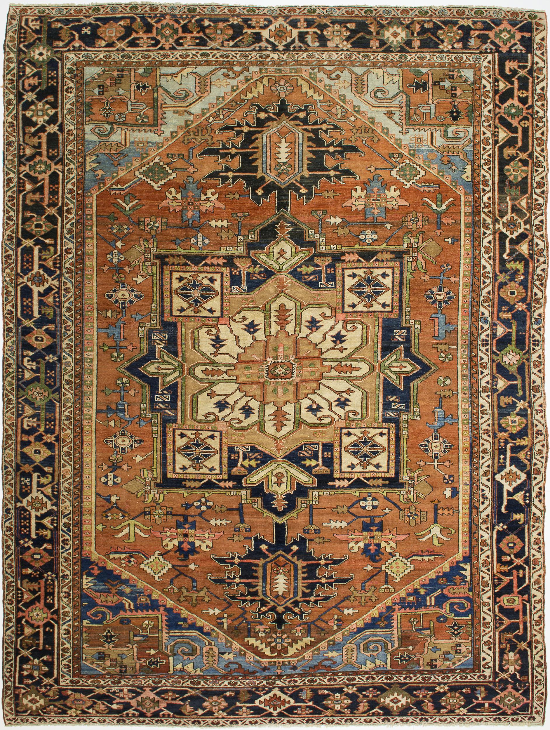 """Copy of Heriz Carpet 12' 5"""" x 9' 7"""""""