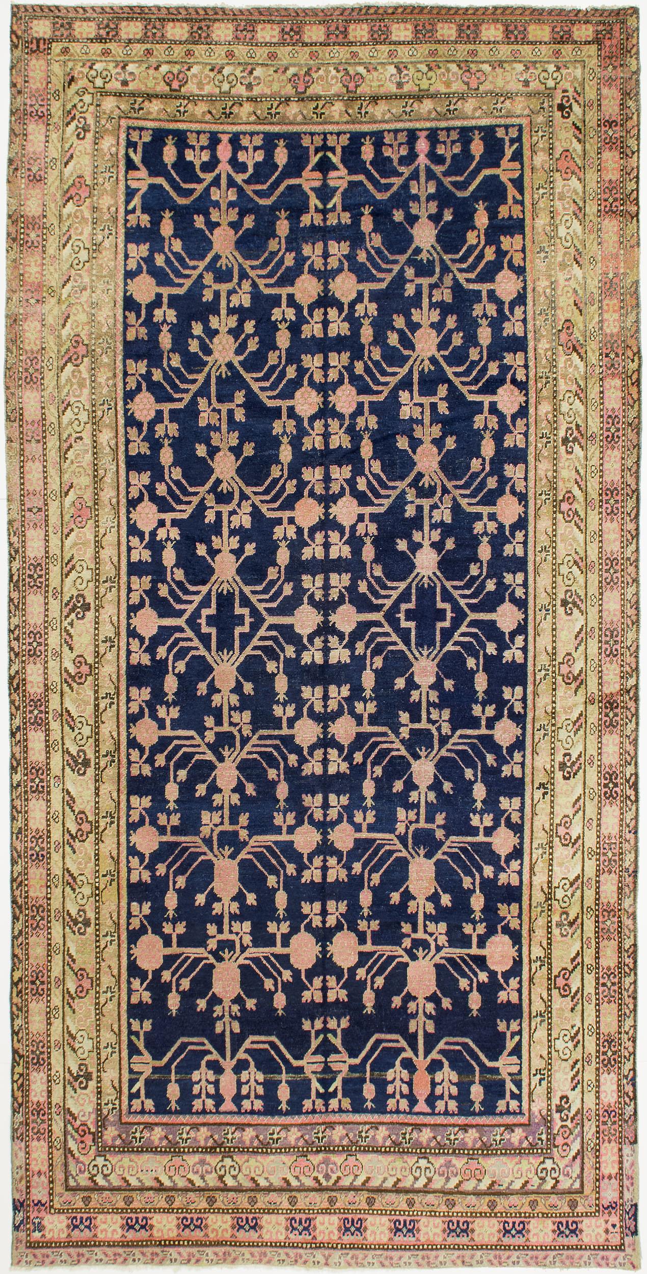 """Khotan Carpet 11' 3"""" x 5' 6"""""""