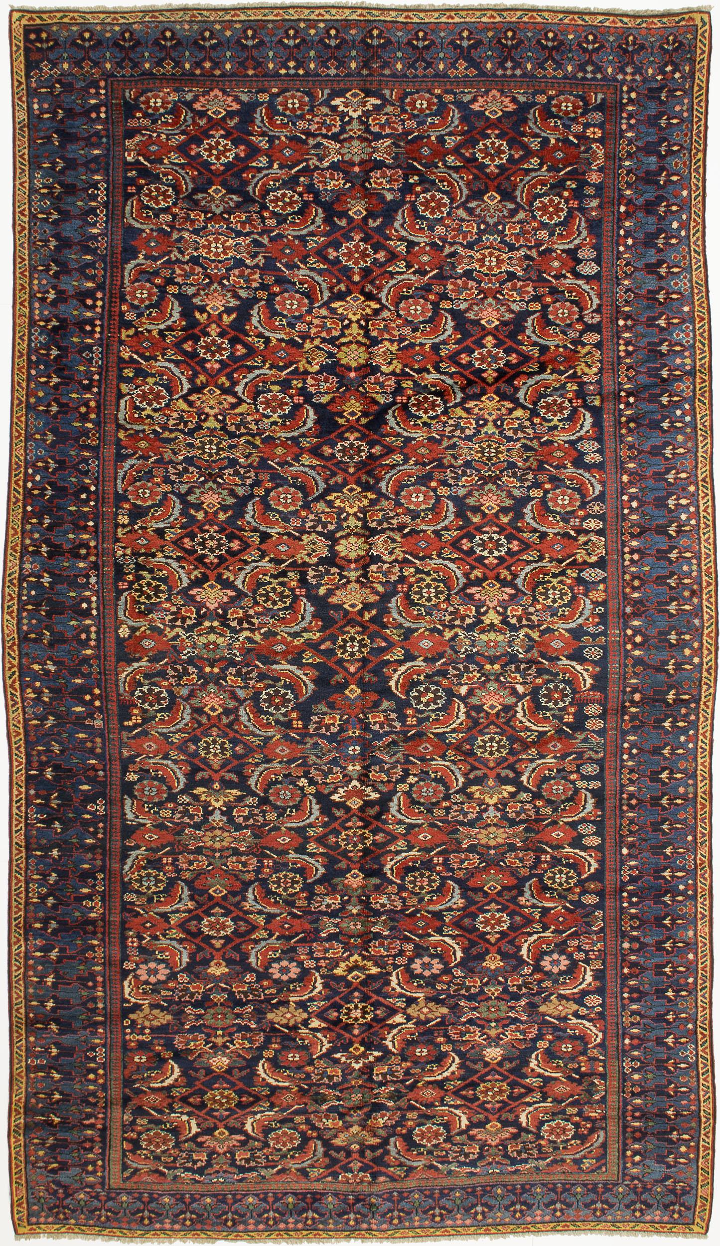 """Kurdish Carpet 11' 0"""" x 6' 4"""""""