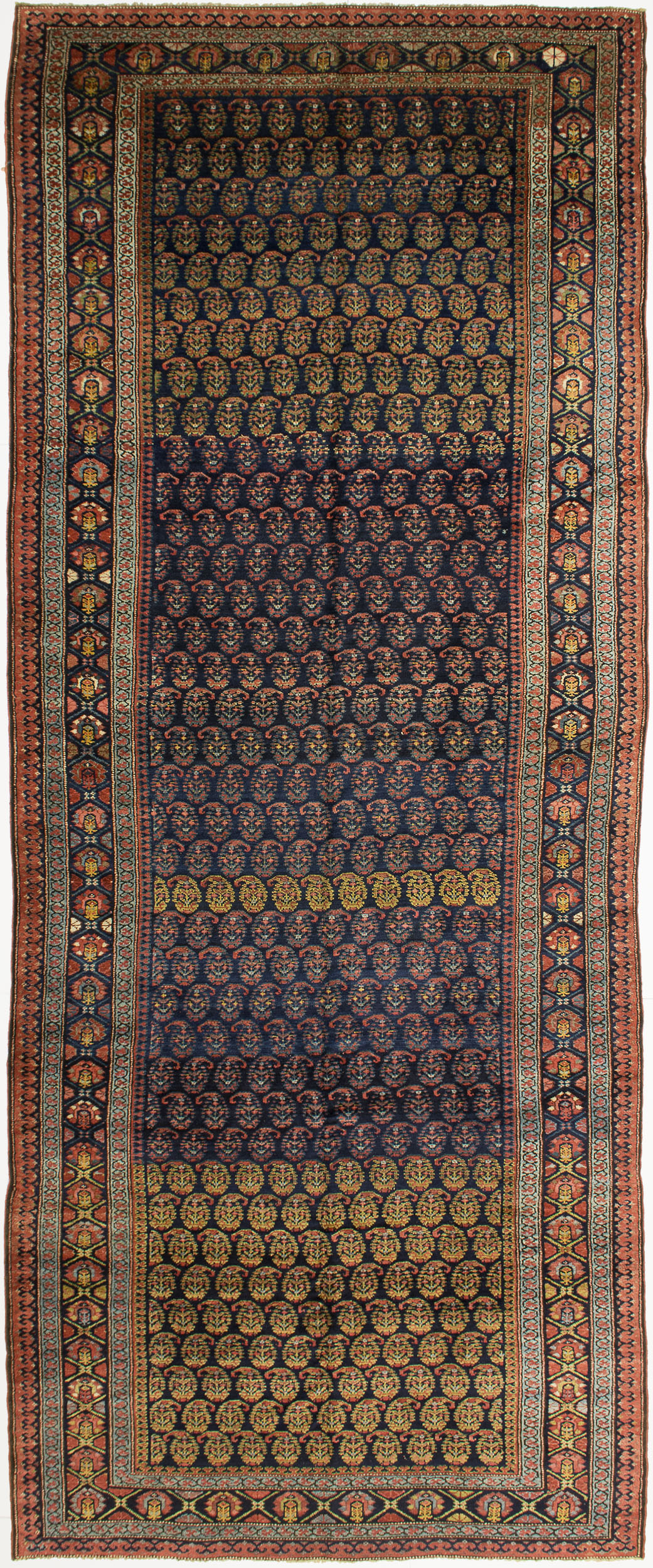 "Kurdish Gallery Carpet 14' 5"" x 5' 8"""