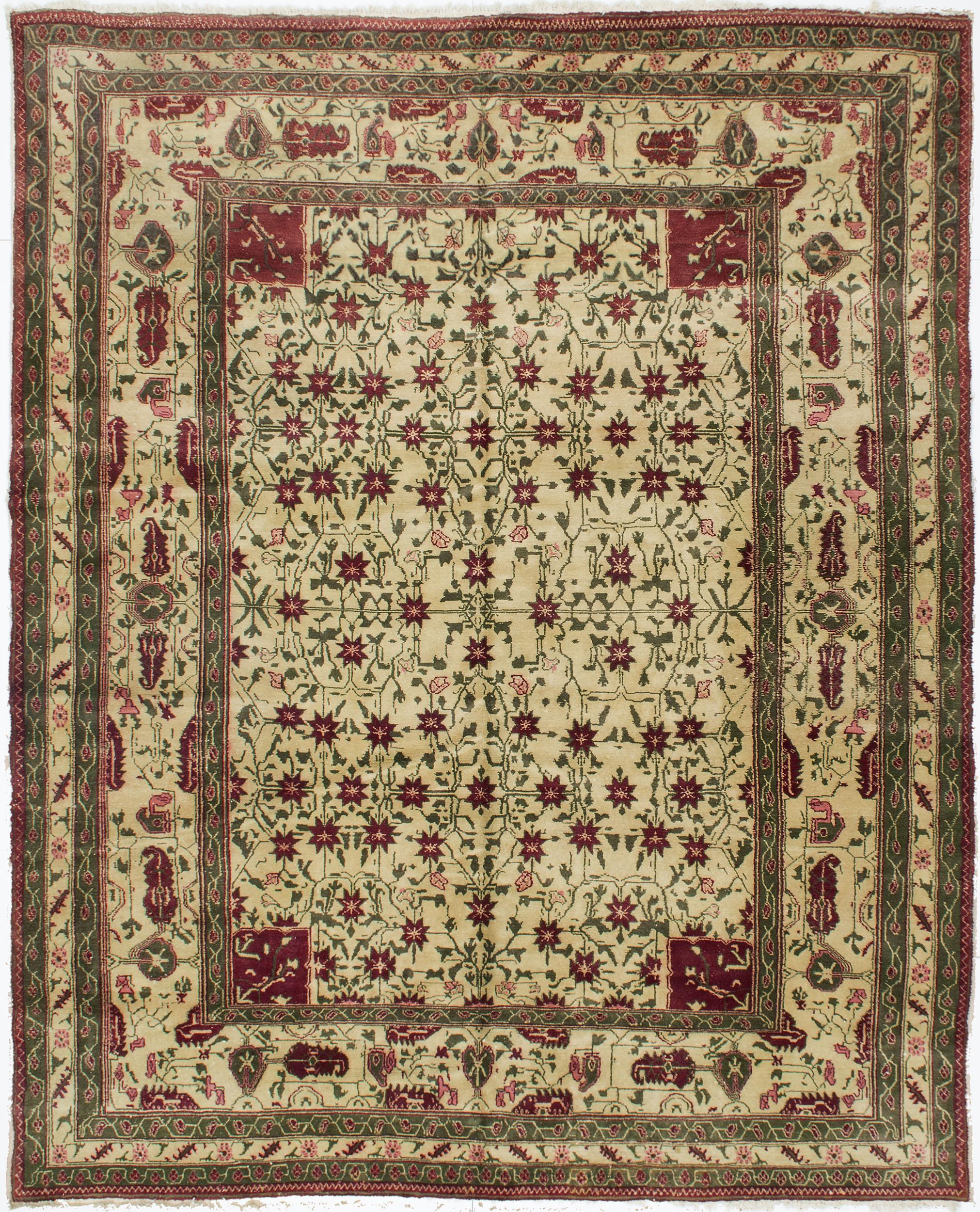 "Agra Carpet 8' 6"" x 7' 0"""