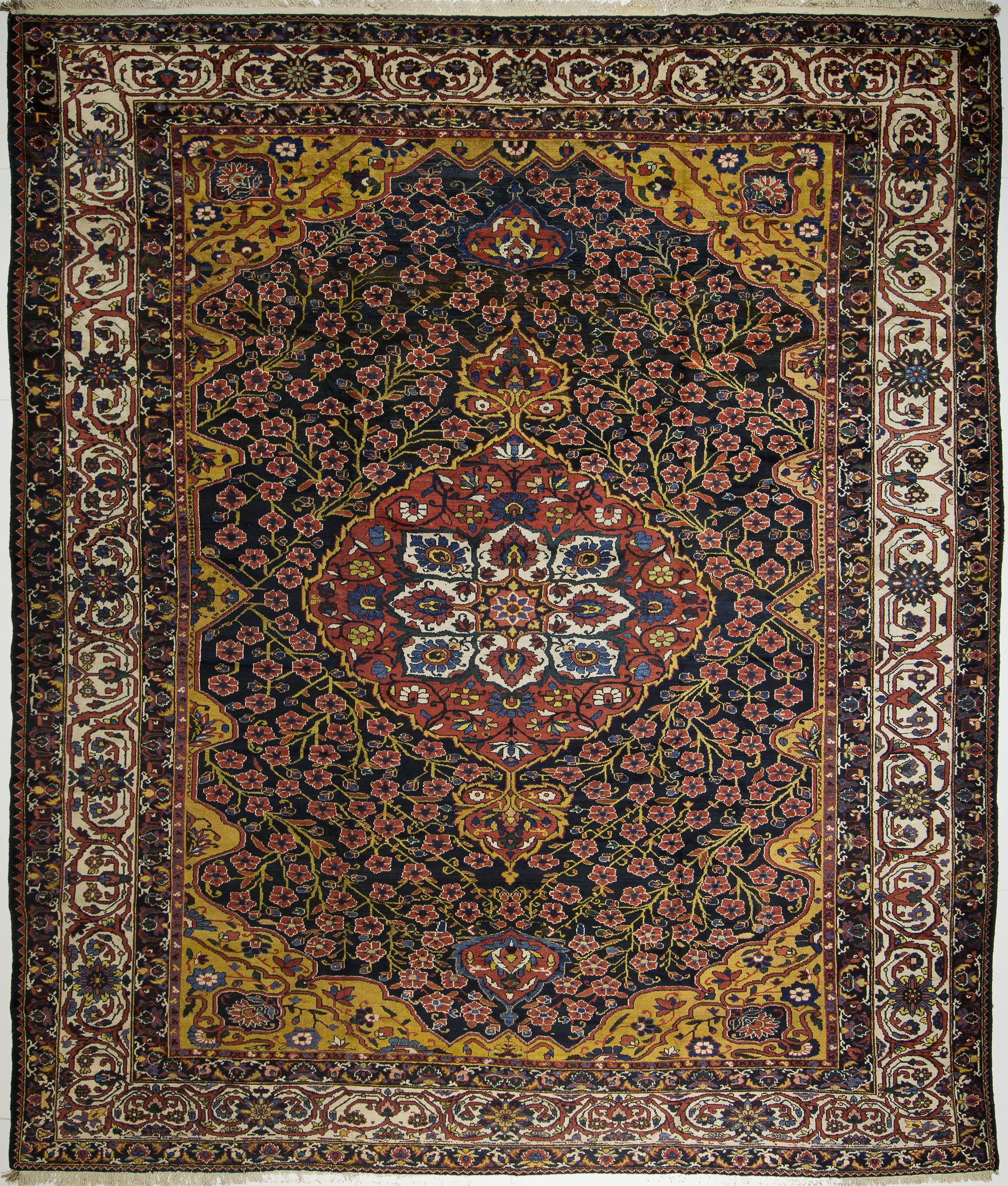 """Bakhtiari Carpet 16' 1"""" x 13' 8"""""""