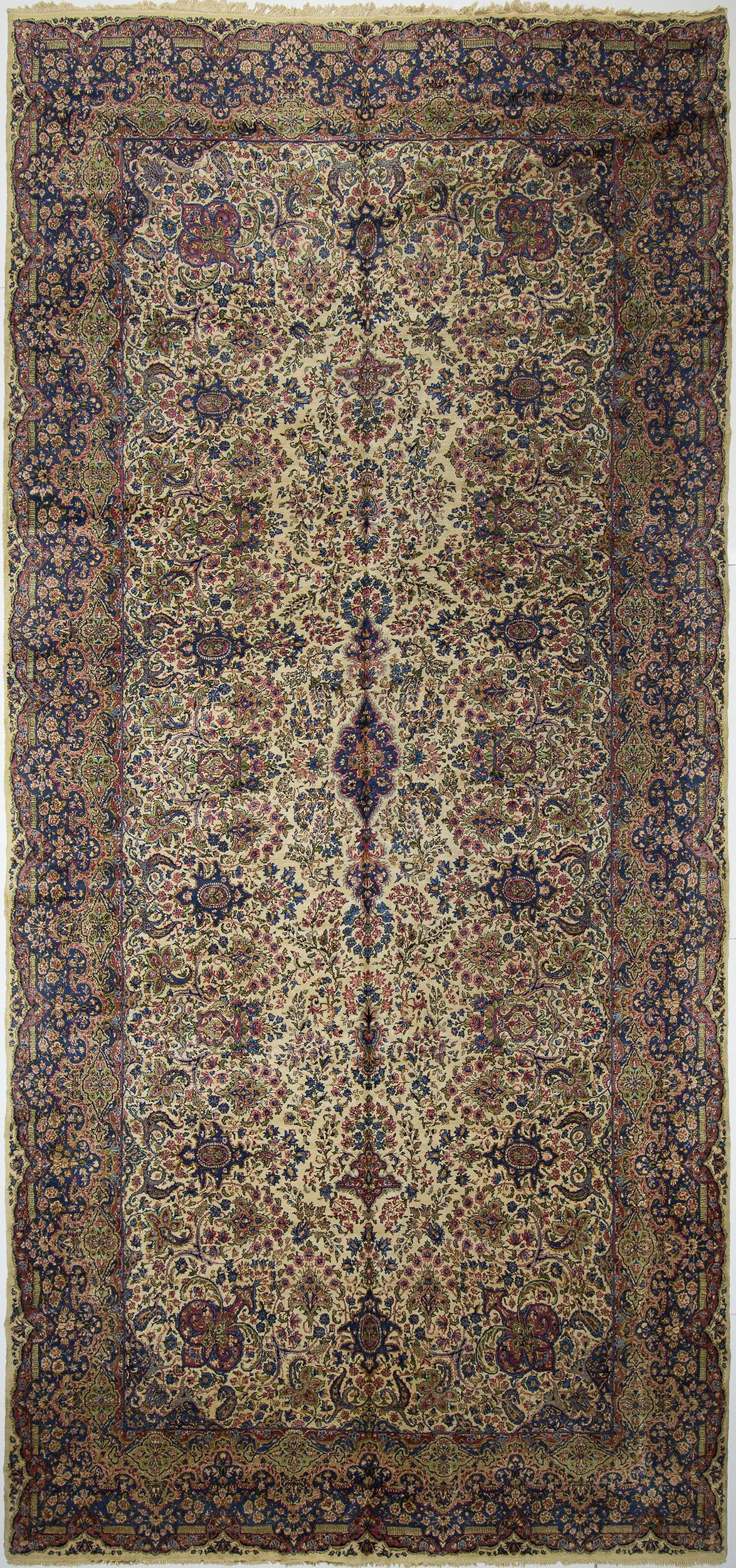 """Kerman Carpet 20' 8"""" x 9' 8"""""""