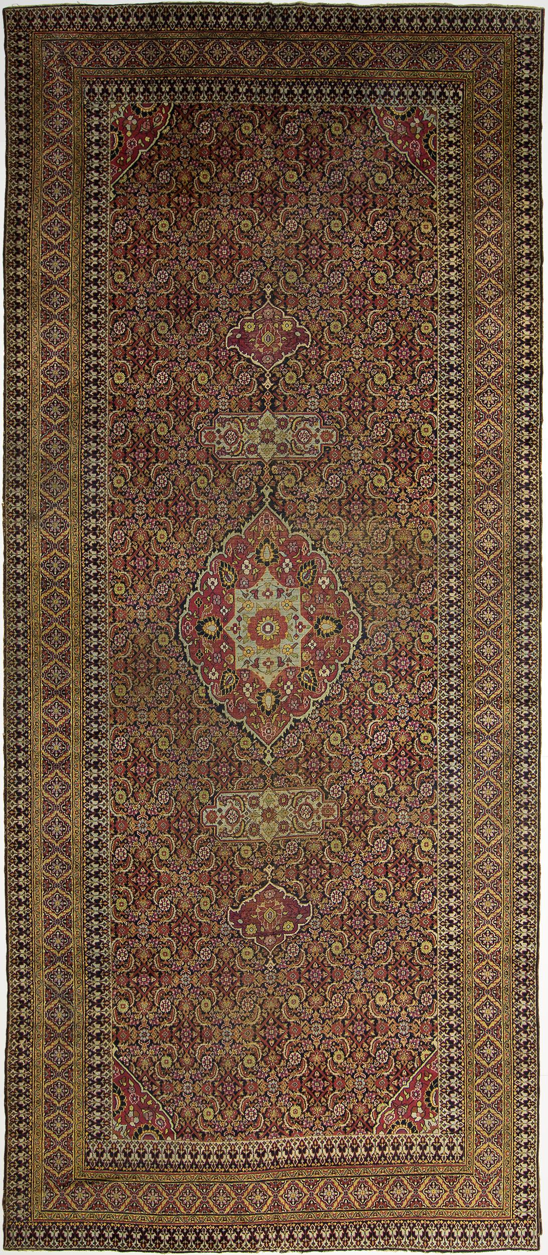 "Khorassan Gallery Carpet 19' 7"" x 8' 0"""