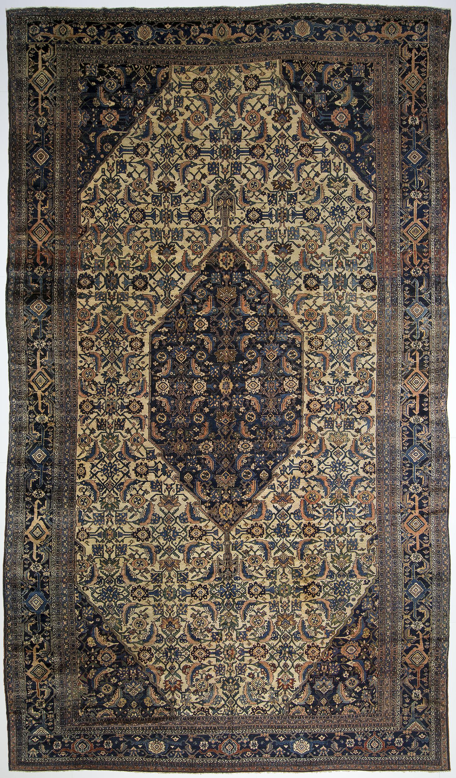 "Bibikabad Carpet 20' 7"" x 11' 8"""